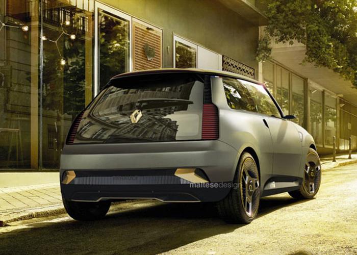 Renault Le 5 Concept: Bringing Back Old Memories