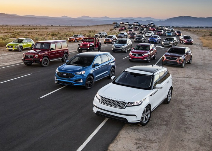 The competition: SUV of the Year