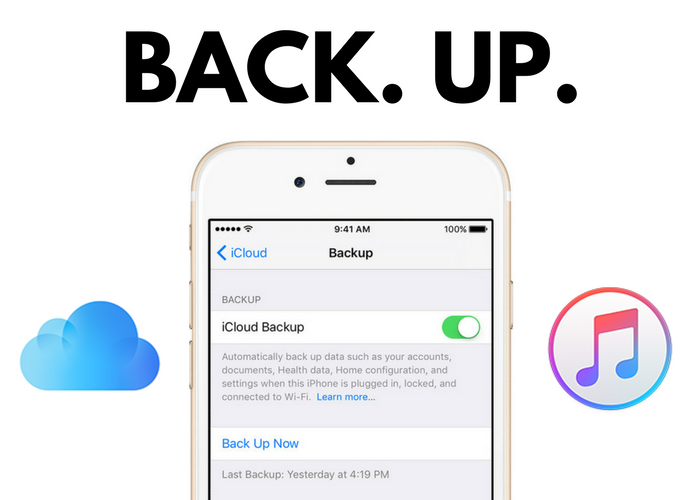 Learn how to backup your iPhone, iPad and Apple Watch