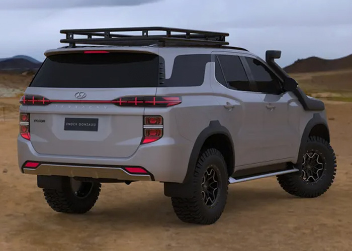 Hyundai Intents To Challenge The Toyota Land Cruiser With New SUV