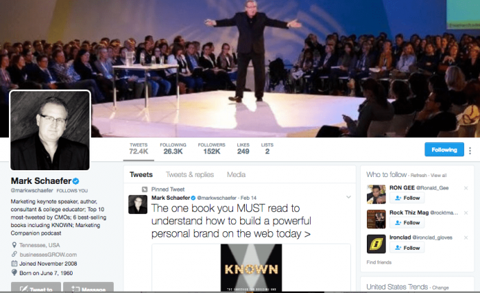to get twitter verification, Choose a cover photo that shows you doing something important