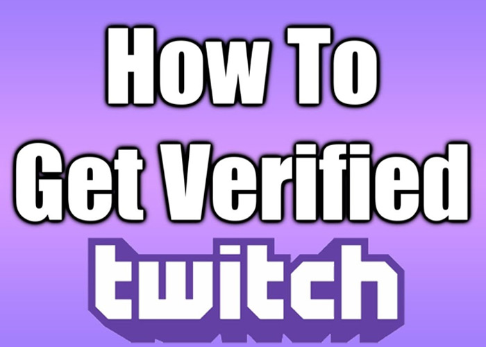 How to get verified on twitch? purple octagon with a checkmark