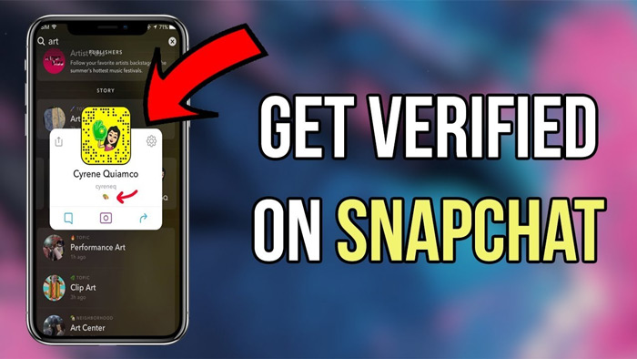 More options to get a Snapchat blue badge