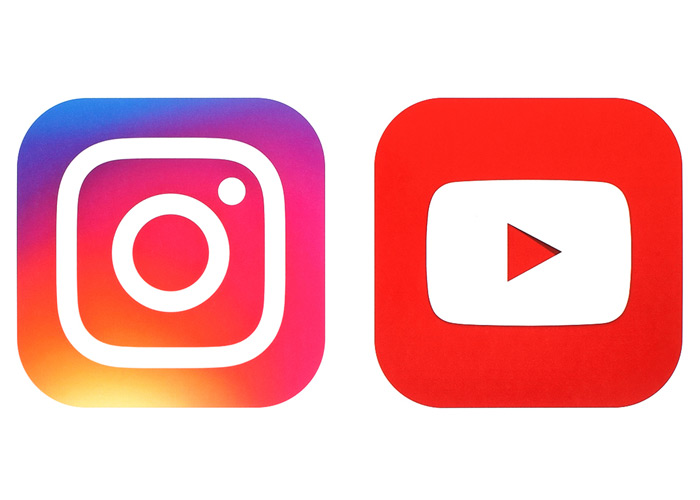 Instagrammers and YouTubers; Entertainment vs. lifestyle