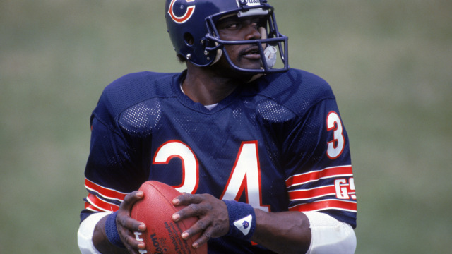 Best NFL players : Walter Payton