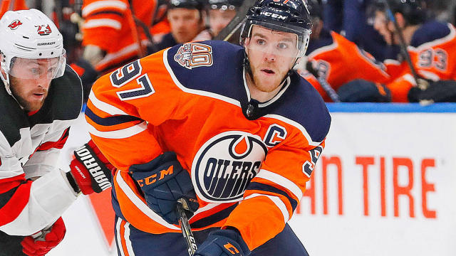 McDavid has registered at least 100 points in each of the last two seasons.